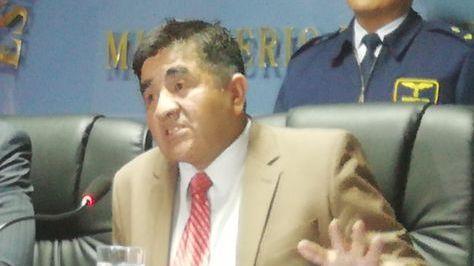 El viceministro de Lucha Contra el Contrabando, Gonzalo Rodríguez
