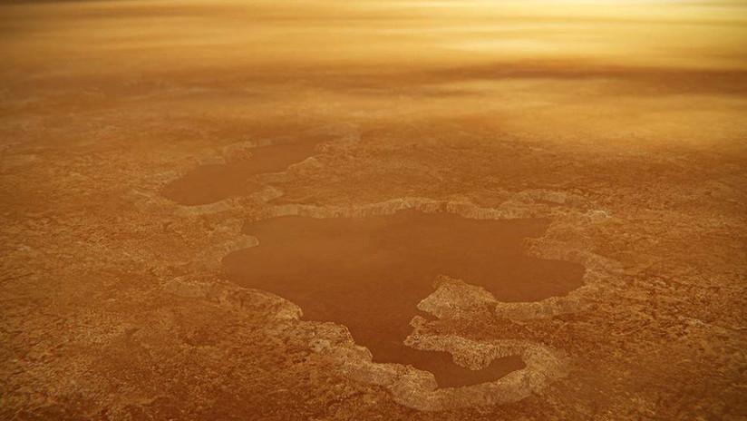 Los lagos de Titán serían fruto de la explosión de cráteres