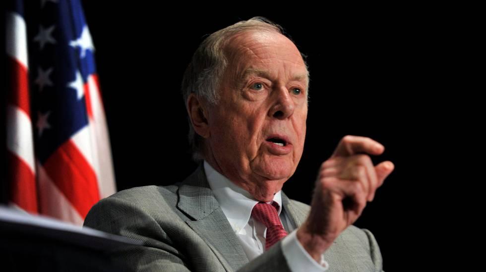 T. Boone Pickens, en una imagen tomada en 2010.