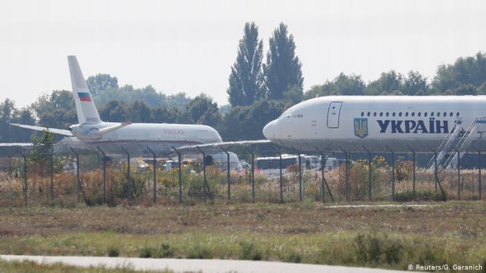 Intercambio de prisioneros entre Ucrania y Rusia en Kiew, el 7 de septiembre de 2019