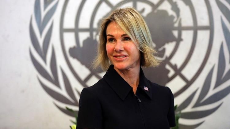 Kelly Craft, nueva embajadora de EEUU ante la ONU (AFP)