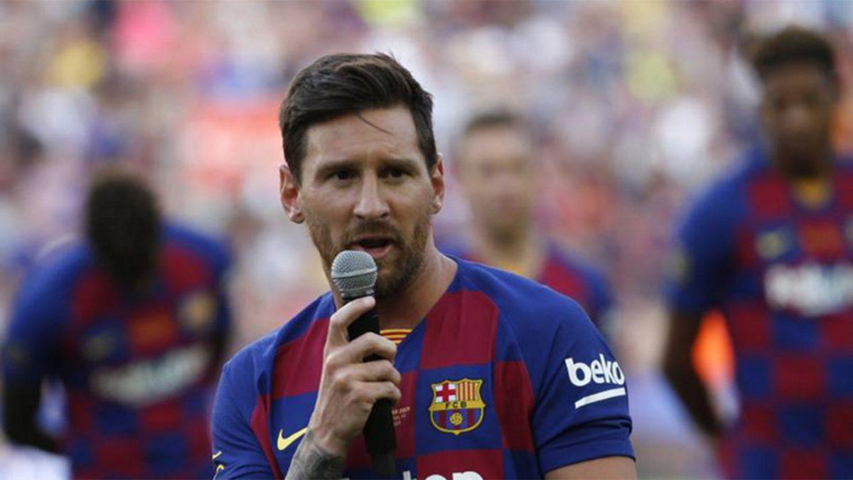 """Resultado de imagen para Messi: """"No quiero irme, pero lo importante es tener un proyecto ganador"""""""