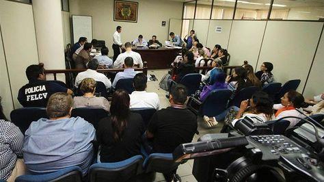 Audiencia del menor de 14 años implicado en el caso La Manada.