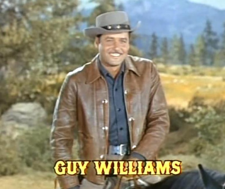 "Guy Williams en ""Bonanza"""