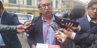 """Quisbert: """"Más de 100 mil militantes del FRI le quitan su apoyo a Carlos Mesa"""""""