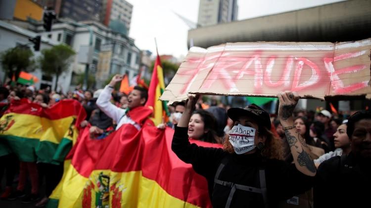 Inicia un paro cívico a la espera resultados de las elecciones — BOLIVIA