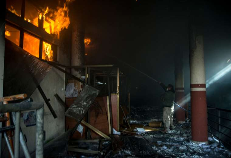 Aún no se cuantificó el daño a cada dependencia I Foto: APG Noticias.