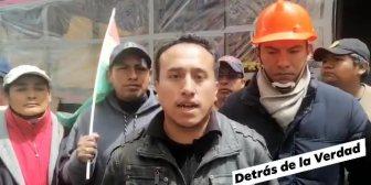 Ver video La posición de la caravana Nacional a La Paz es…