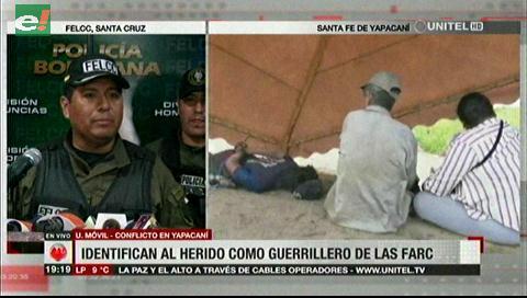Un argentino que sería de las FARC fue herido en Bolivia