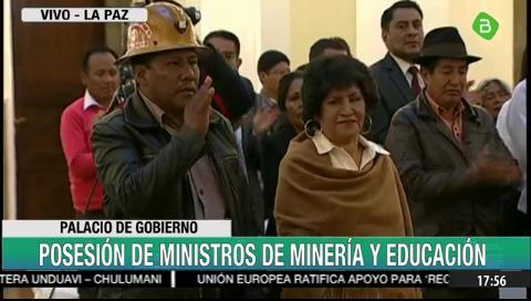 Educación y Minería: Virginia Patty y Carlos Huallpa se suman al gabinete de Añez
