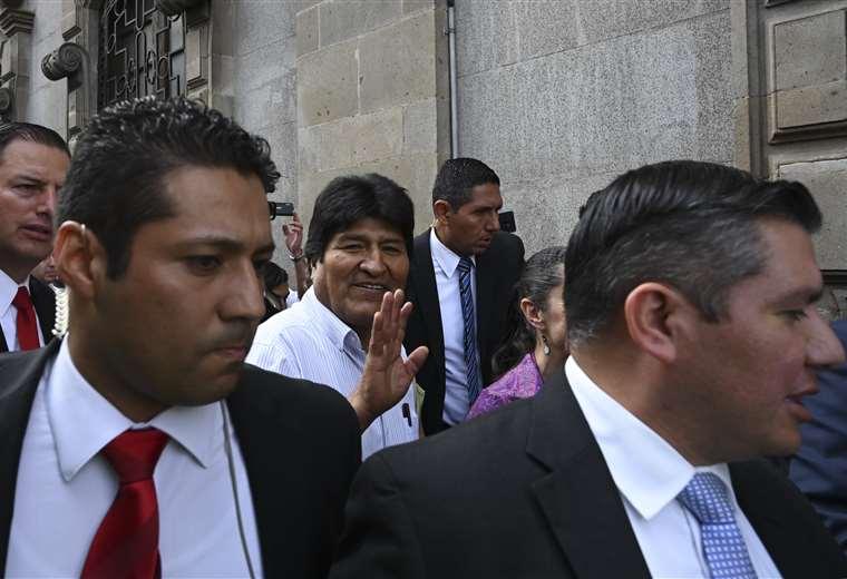 Evo Morales ya se siente como un