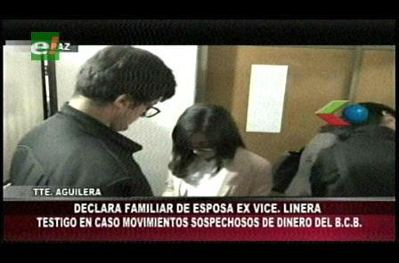 Movimientos irregulares en el BCB: Hermana de Claudia Fernández declaró en la Fiscalía