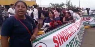 Ver video – Trabajadoras del sector salud en emergencia, denuncian discriminación…