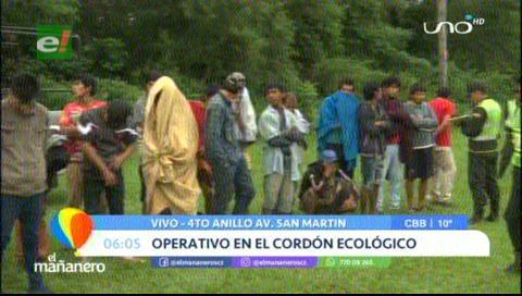 Realizan operativo contra los «hombres topo» en el cordón ecológico