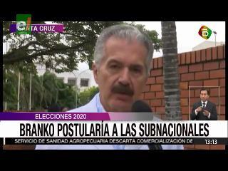 Excívico no descarta la candidatura de Branko a las subnacionales