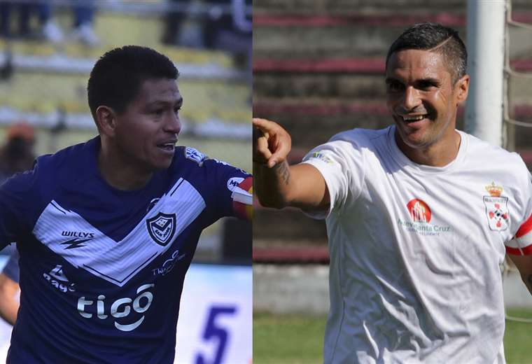 Saucedo y Palavicini, dos goleadores de raza en la División Profesional. Foto. DIEZ