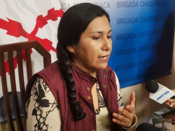 Marianela Paco reaparece, critica al gobierno de Áñez y no descarta ser candidata