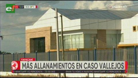 Realizan más allanamientos tras la aprehensión de Dora Vallejos