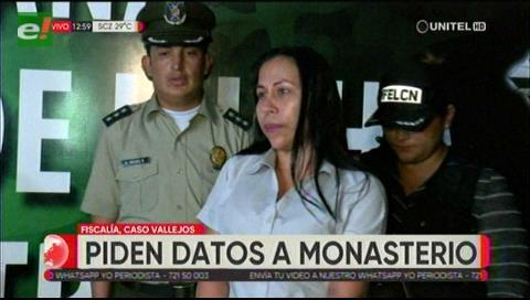 Fiscal pide a Monasterio brindar la información que tiene sobre el caso ´Vallejos`