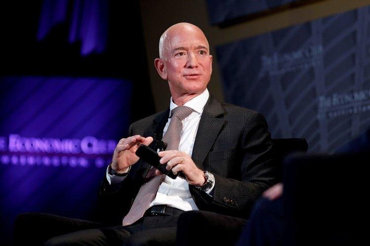 Jeff Bezos. Foto: REUTERS/Joshua Roberts