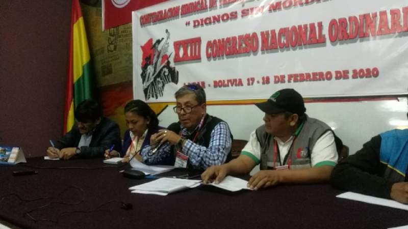 Congreso de trabajadores de la prensa expulsa a Héctor Aguilar y a su directiva