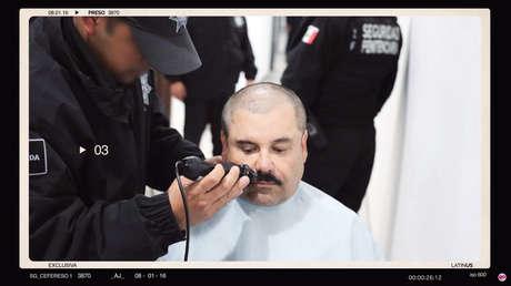 Revelan imágenes inéditas de El Chapo Guzmán ingresando al Altiplano