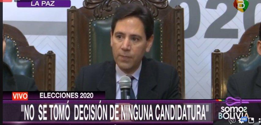 En Vivo: TSE aclara que no ha tomado decisión sobre inhabilitación de ningún candidato presidencial