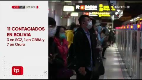 Video titulares de noticias de TV – Bolivia, mediodía del lunes 16 de marzo de 2020