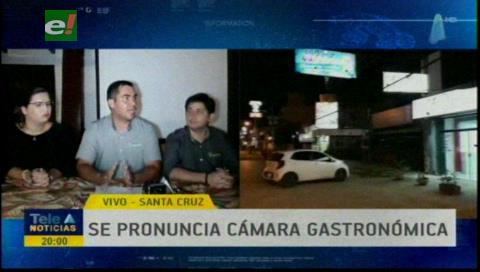El sector gastronómico de Santa Cruz decidió parar sus actividades hasta el 31 de marzo