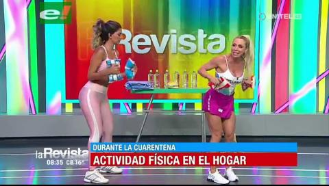 Laura Donoso te da opciones de ejercicios para hacer en casa durante la cuarentena