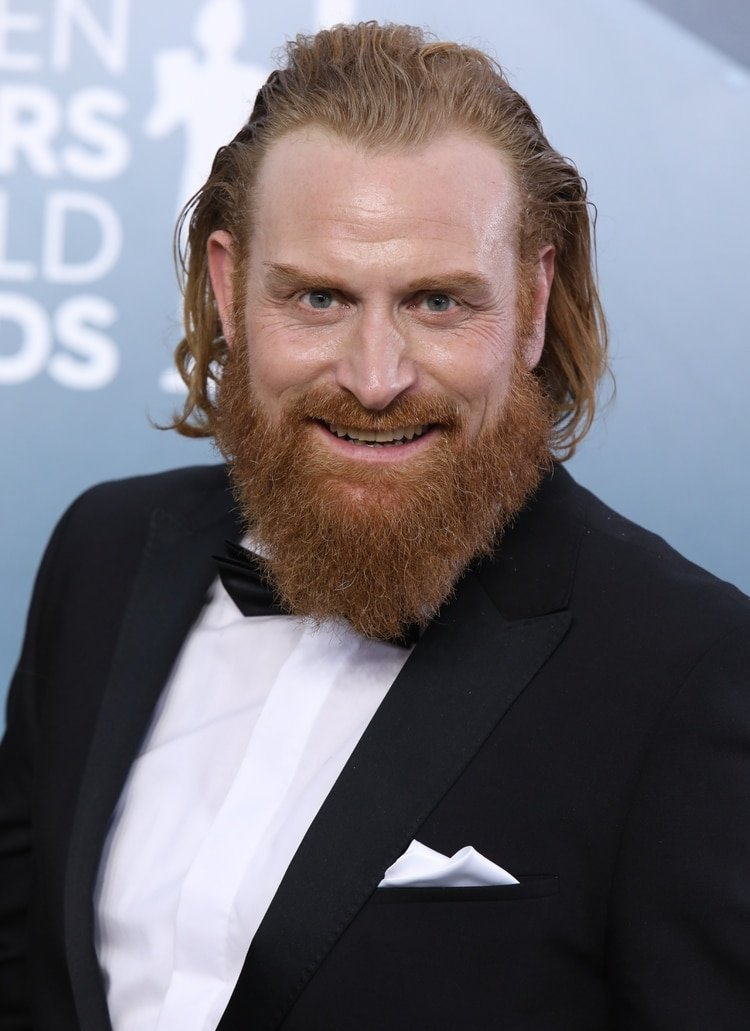 Kristofer Hivju en la edición 26 de los Screen Actors Guild Awards, celebrada en Los Angeles en enero de 2020 (Foto: REUTERS/Monica Almeida)