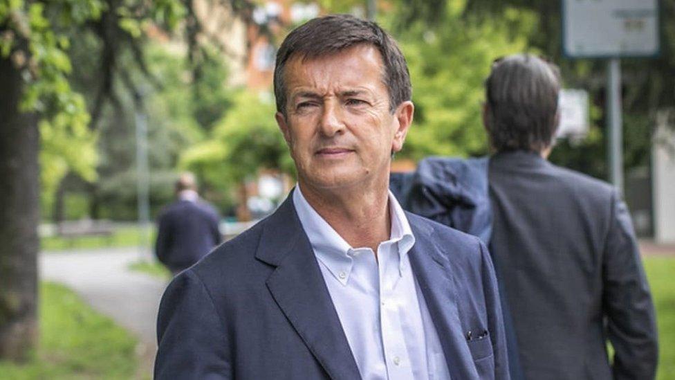Giorgio Gori, alcalde de la ciudad de Bérgamo desde 2014.