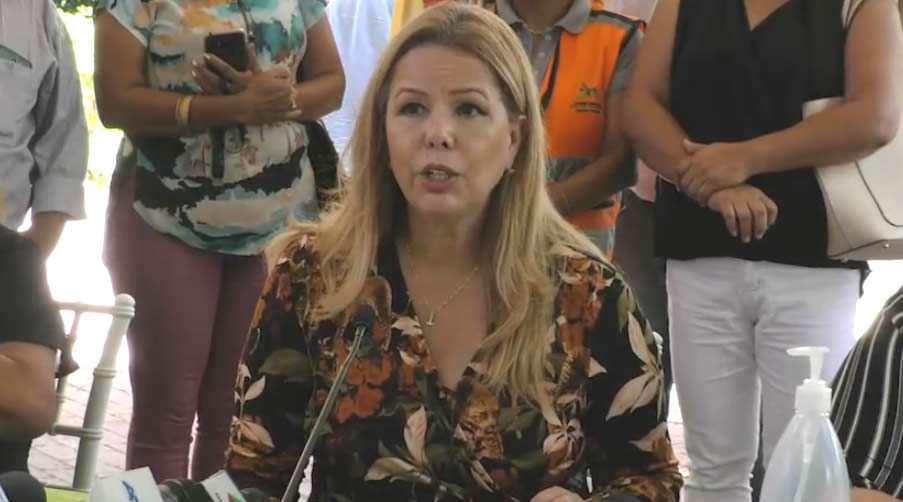 Angélica Sosa, presidenta del Concejo municipal