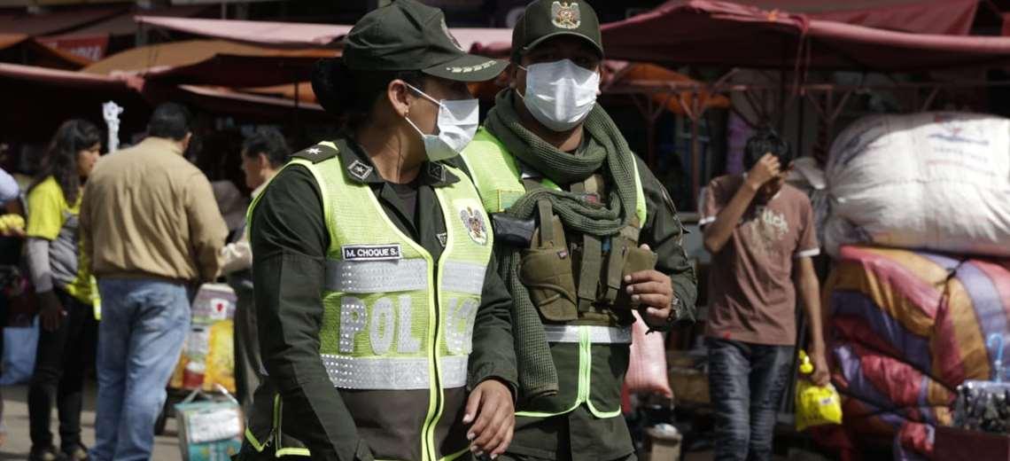 Las fuerzas del orden saldrán a las calles