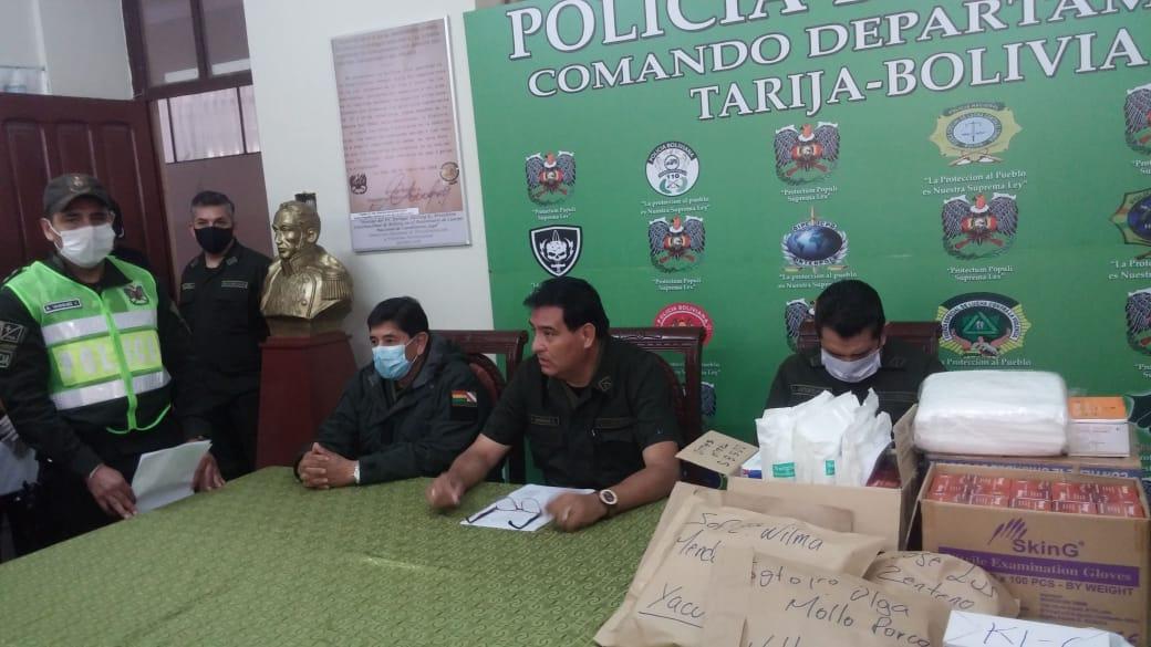 Arrestan a más de 80 personas por incumplir cuarentena en el departamento de Tarija