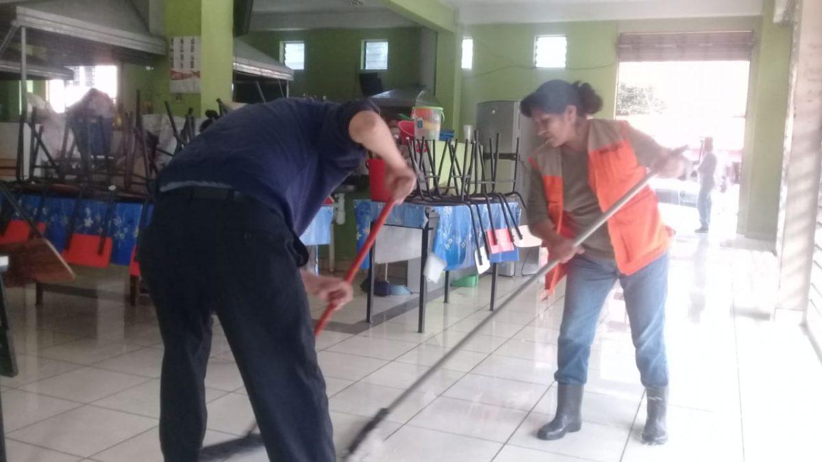 Comerciantes de mercados de Tarija fueron capacitados en higiene y prevención para el coronavirus