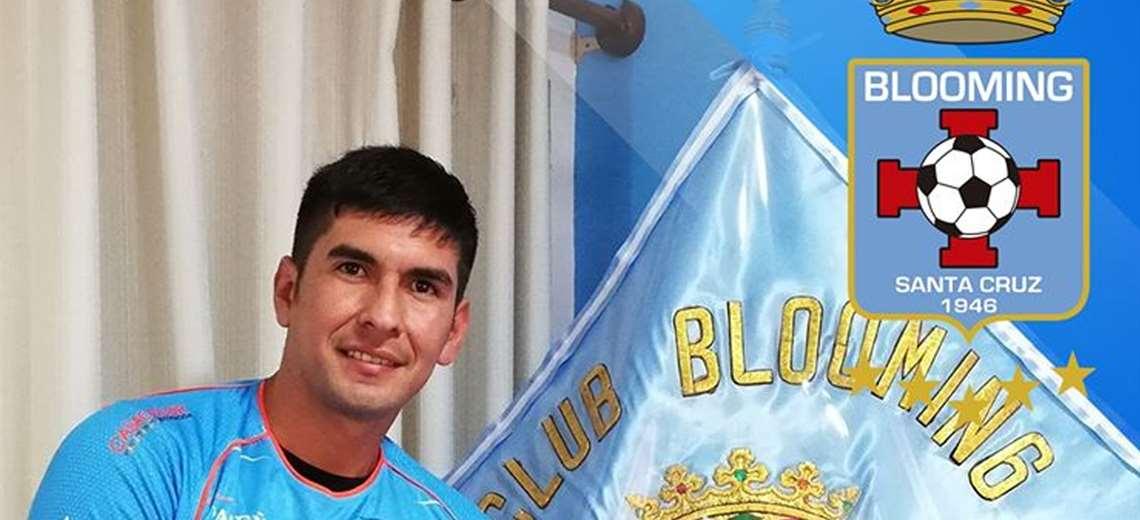 José Peñarrieta llegó a Blooming en enero. Foto: Club Blooming