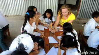 Proyecto escolar en Nicaragua.
