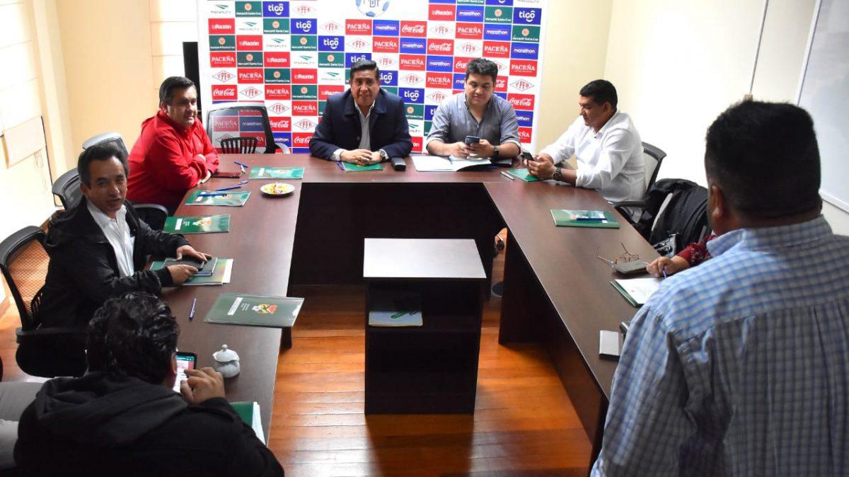 Reunión de Comité Ejecutivo de la FBF. APG