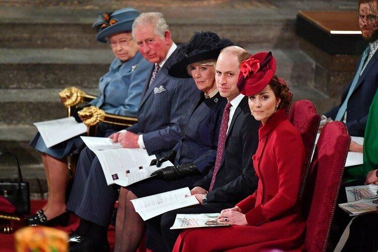 Ceremonia en Westminster del 9 de marzo (Reuters)