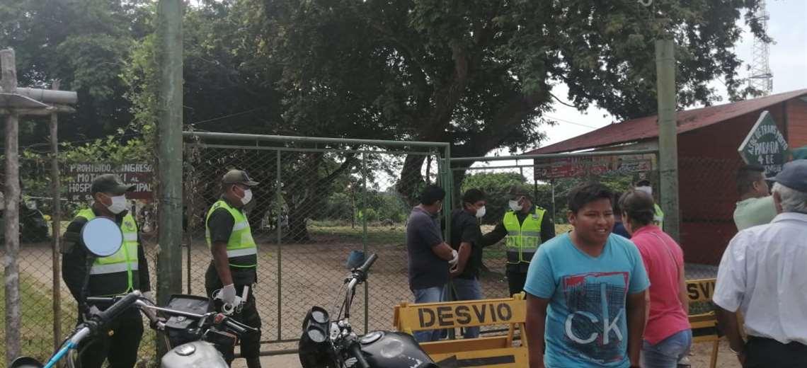 En San Carlos se reportó el primer caso de coronavirus/Foto: Hernán Virgo