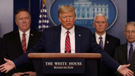 """Trump sobre su supuesto aislamiento: """"No tengo tiempo para la estupidez, trabajamos las 24 horas"""""""