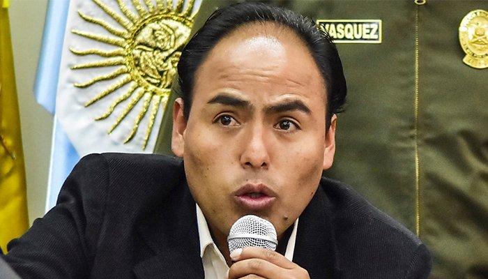Ministro de Deportes transitorio, Milton Navarro.     APG