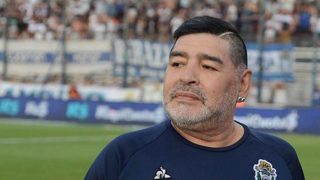 Maradona y su mensaje de aliento a Gatti Fuerza Loco, tu familia te está esperando