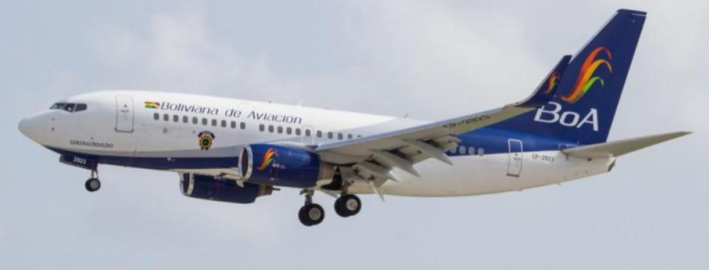 Gobierno de Bolivia inyecta US$17,5M a la aerolínea estatal BoA ...