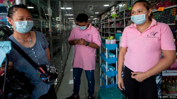 Coronavirus in Nicaragua (AFP/I. Ocon)