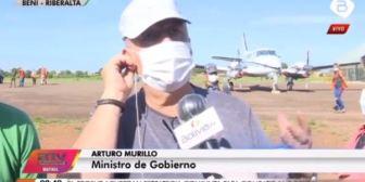 Murillo: Yucra será trasladado a Santa Cruz y Evo debe ser procesado por crímenes de lesa humanidad