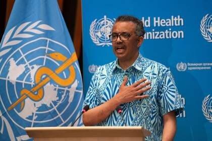 Tedros Adhanom Ghebreyesus, director general de la OMS (Christopher Black/WHO/Handout via REUTERS)
