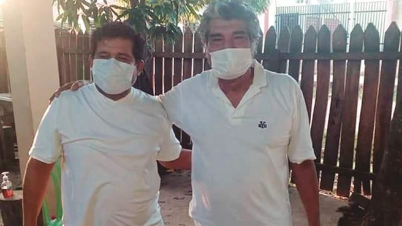 """Marcial Fabricano y su hijo vencen a la Covid-19: """"Hay que matar al virus, no buscar culpables"""""""
