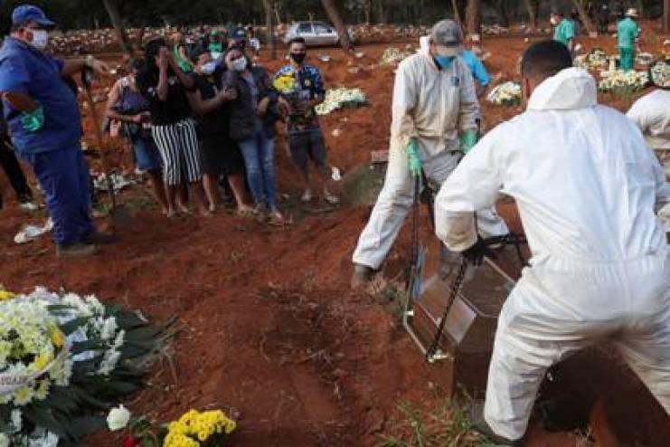 Brasil es el segundo país del mundo en contagios